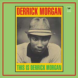 DERRICK MORGAN, this is derrick morgan cover