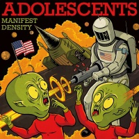 Cover ADOLESCENTS, manifest destiny