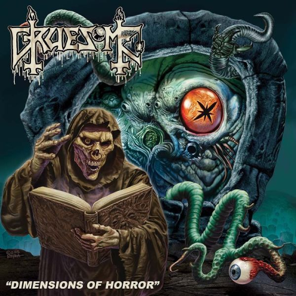 Cover GRUESOME, dimensions of horror