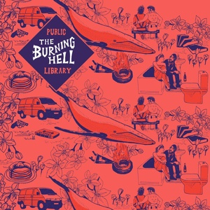 BURNING HELL, public library cover