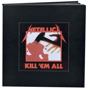 Cover METALLICA, kill em all (deluxe boxset)