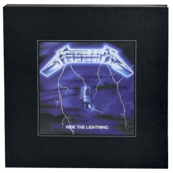 Cover METALLICA, ride the lightning (deluxe boxset)