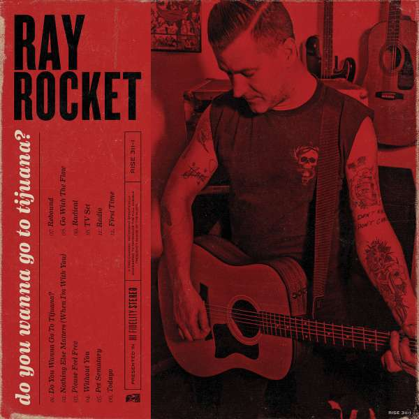 Cover RAY ROCKET, do you wanna go to tijuana?