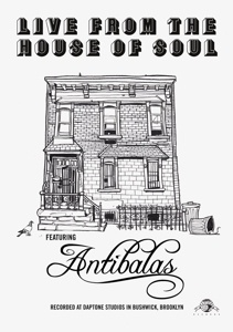 Cover ANTIBALAS, live from the house of soul