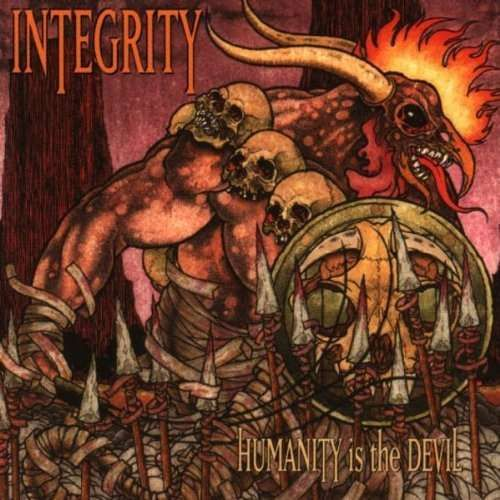 Cover INTEGRITY, humanity is the devil (20th anniversary)