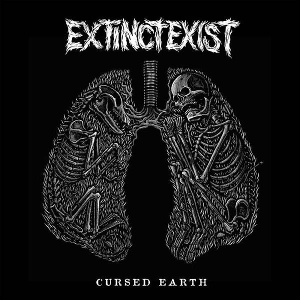 Cover EXTINCT EXIST, cursed earth