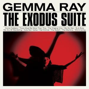 Cover GEMMA RAY, the exodus suite