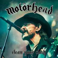 MOTÖRHEAD, clean your clock cover