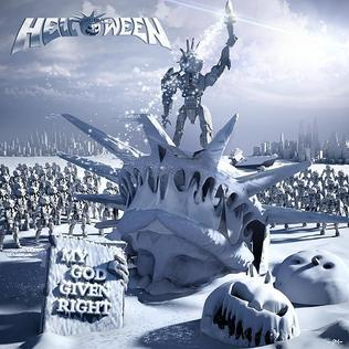 Cover HELLOWEEN, my god given right