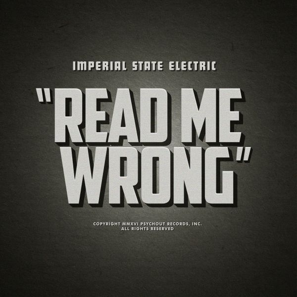 IMPERIAL STATE ELECTRIC, read me wrong cover