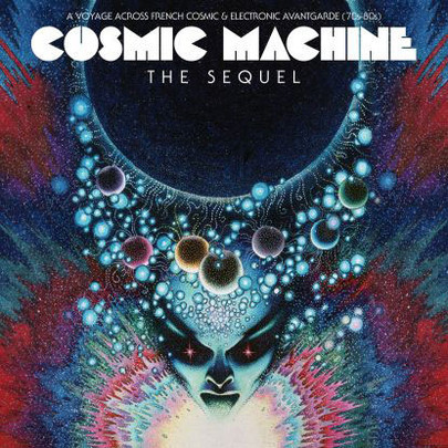 Cover V/A, cosmic machine - the sequel