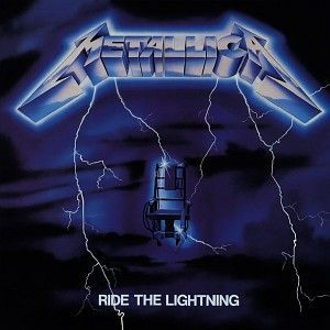 Cover METALLICA, ride the lightning (remastered)