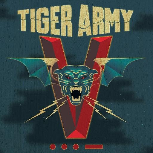 TIGER ARMY, v cover