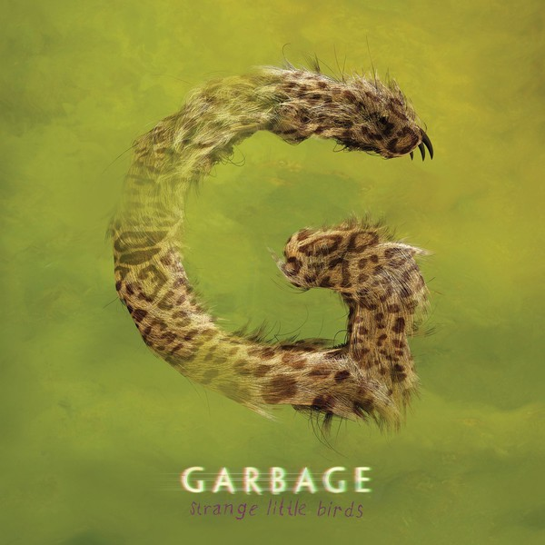 GARBAGE, strange little birds cover