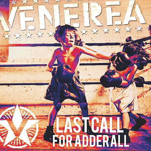 VENEREA, last call for adrenalin cover