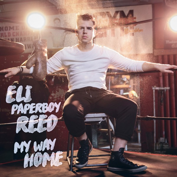 Cover ELI PAPERBOY REED, my way home