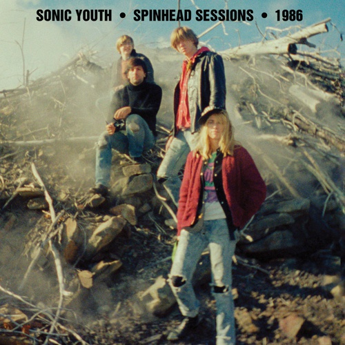 SONIC YOUTH, spinhead sessions cover
