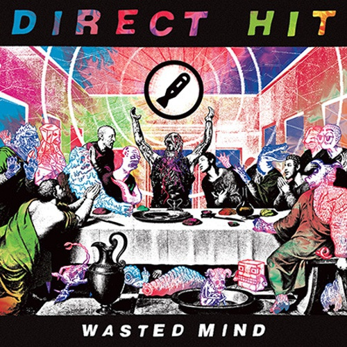 DIRECT HIT, wasted mind cover