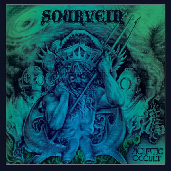 Cover SOURVEIN, aquatic occult