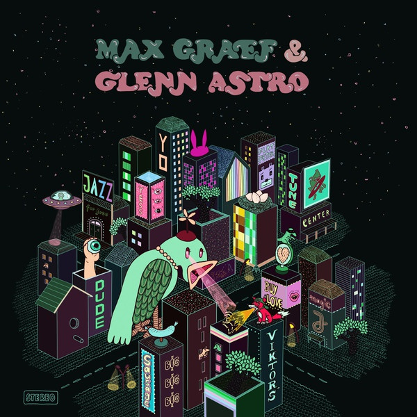Cover MAX GRAEF & GLENN ASTRO, the yard work simulator
