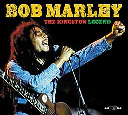 BOB MARLEY, the kingston legend cover