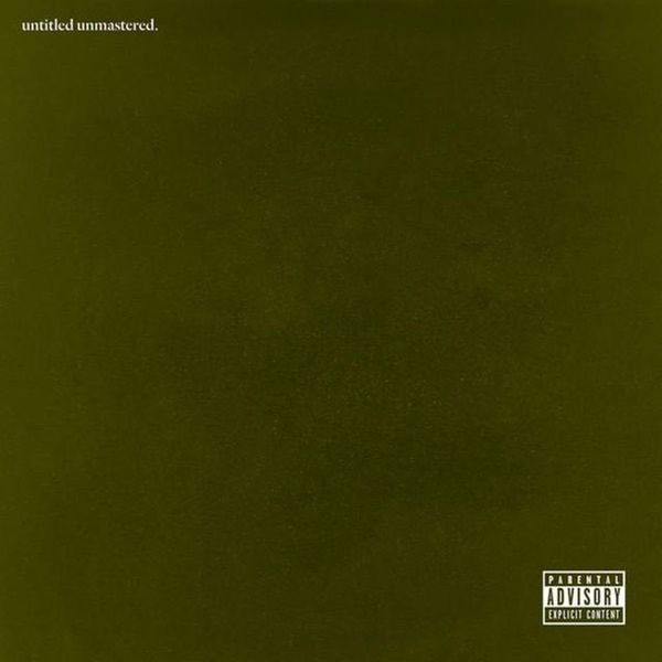 Cover KENDRICK LAMAR, untitled unmastered.
