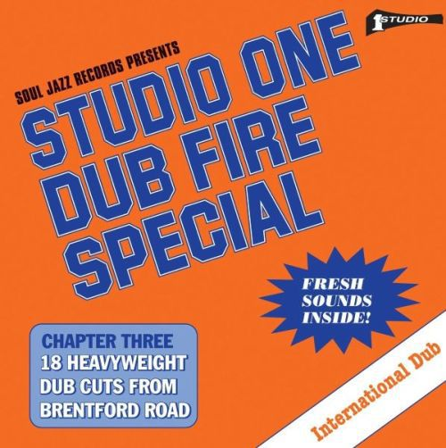 Cover V/A, studio one dub fire special