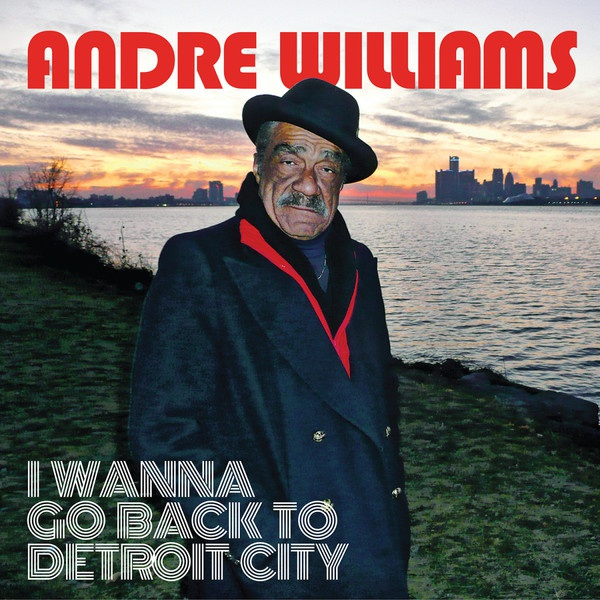 Cover ANDRE WILLIAMS, i wanna go back to detroit city