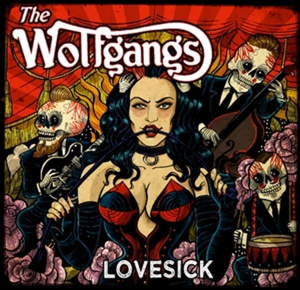 WOLFGANGS, lovesick cover