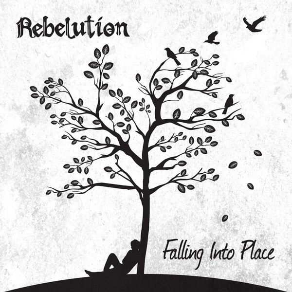 Cover REBELUTION, falling into place