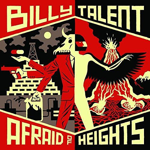 Cover BILLY TALENT, afraid of heights