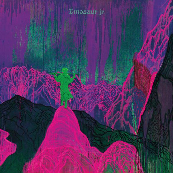 Cover DINOSAUR JR., give a glimpse of what yer not