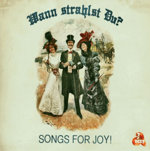 Cover SONGS FOR JOY, wann strahlst du?
