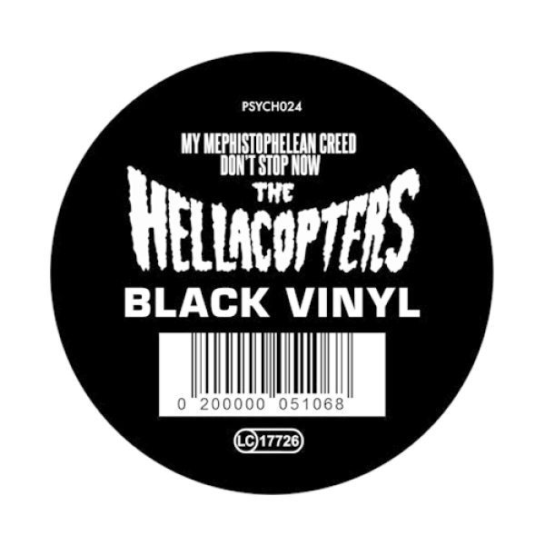Cover HELLACOPTERS, my mephistophelean creed (black vinyl)