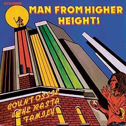 Cover COUNT OSSIE & THE RASTA FAMILY, man from higher heights