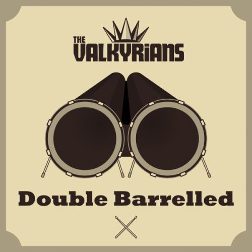 Cover VALKYRIANS, double barrelled