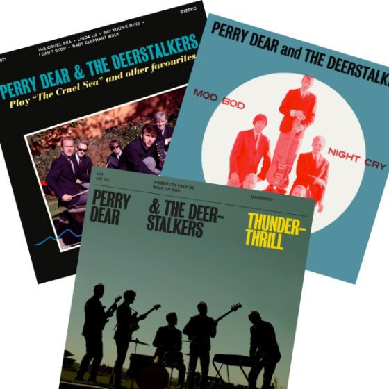 Cover PERRY DEAR & THE DEERSTALKERS, play the cruel sea and other favourites