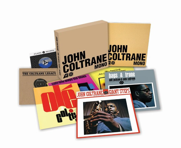 Cover JOHN COLTRANE, atlantic years in mono