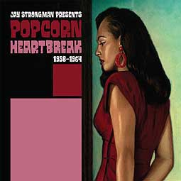Cover V/A, popcorn heartbreak 1958-1964