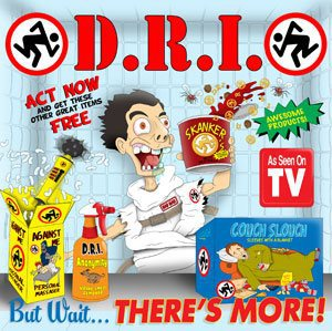 D.R.I., but wait ... there´s more cover