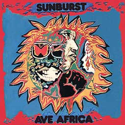 Cover SUNBURST, ave africa 1973-1976 - kitoto sound of east africa