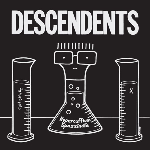 Cover DESCENDENTS, hypercaffium spazzinate