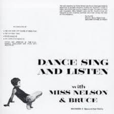 Cover MISS NELSON & BRUCE HAACK, dance sing and listen