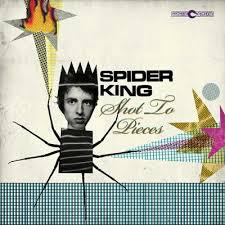SPIDER KING, shot to pieces cover
