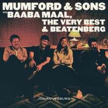 Cover MUMFORD & SONS, johannesburg ep