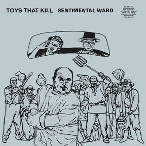 TOYS THAT KILL, sentimental ward cover