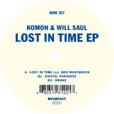 Cover KOMON & WILL SAUL, lost in time ep