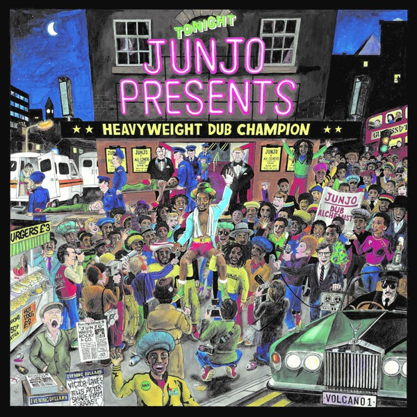 Cover HENRY JUNJO LAWES PRESENTS, presents heavyweight dub champion