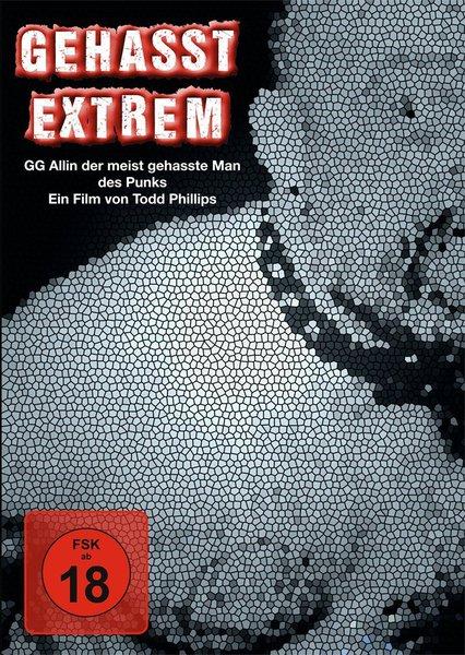 GEHASST EXTREM, gg allin  - der meistgehasste mann des punk cover