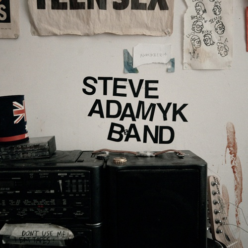 Cover STEVE ADAMYK BAND, graceland